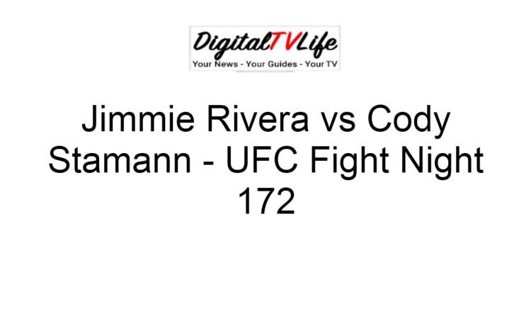 Jimmie Rivera vs Cody Stamann