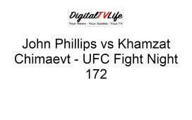 John Phillips vs Khamzat Chimaev
