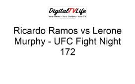 Ricardo Ramos vs Lerone Murphy