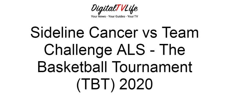 Sideline Cancer vs Team Challenge ALS