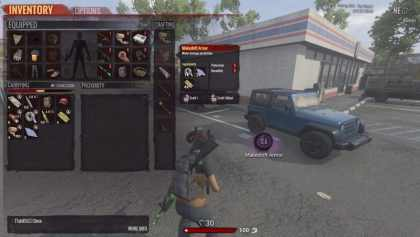 H1Z1: King of the Kill Inventory