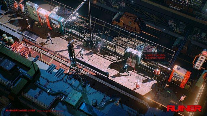 RUINER Cyberpunk Shooter SS1