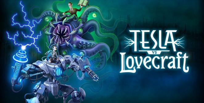 Tesla vs Lovecraft Title