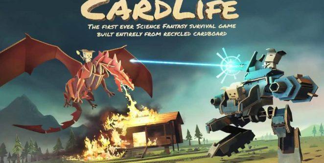 CardLife Cardboard Survival Game Title