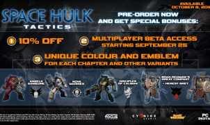 Space Hulk: Tactics Beta Title
