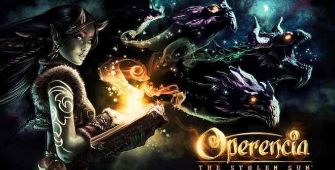 Operencia: The Stolen Sun Dungeon Crawler title