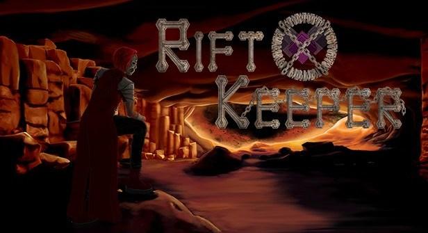Rift Keeper Indie Platformer Title
