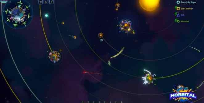 Worbital Deep Space Artillery Game Title