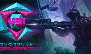 Conglomerate 451 Cyberpunk Title