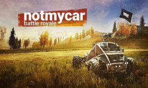 Notmycar vehicular battle royale game title