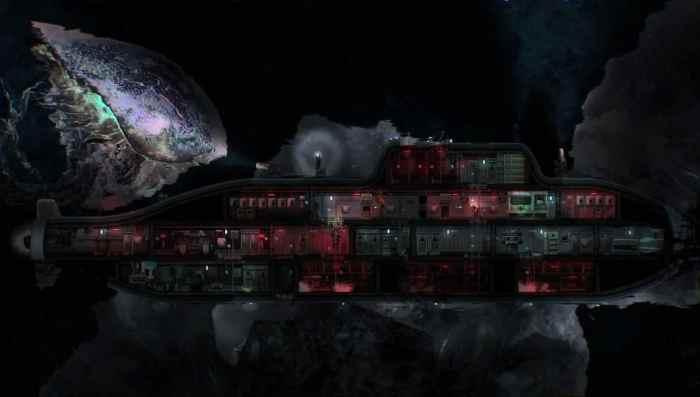 sci-fi submarine simulator Barotrauma ss1