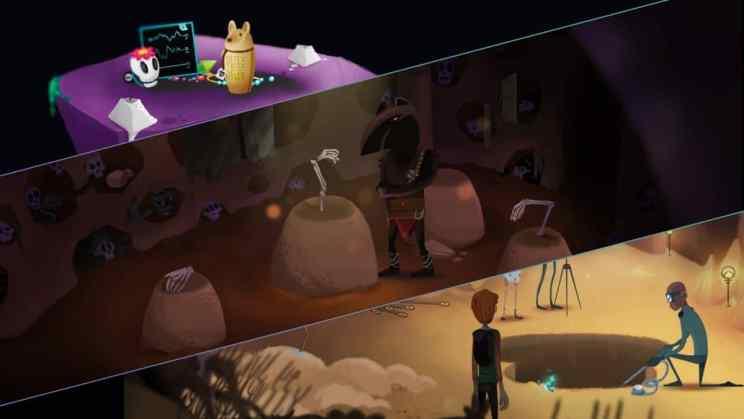 Mutropolis Sci-Fi Archaeological Adventure ss1
