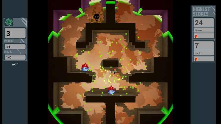 WarpThrough Platformer Game ss2