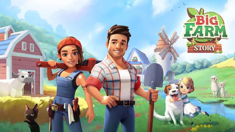 Big Farm Story Early Access Trailer
