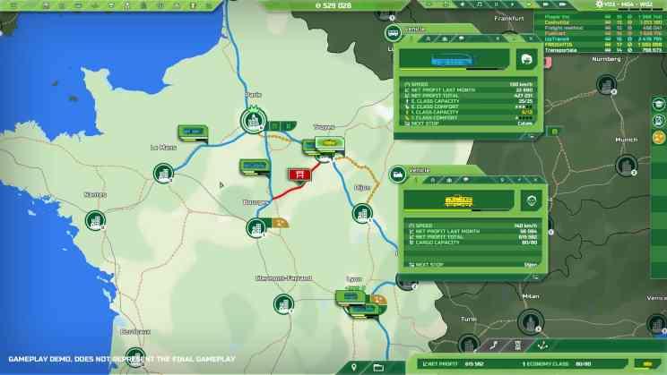 Transport INC. Simulation ss1