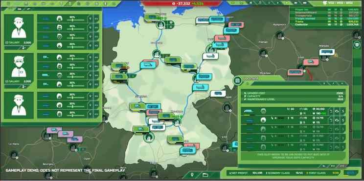 Transport INC. Simulation ss2