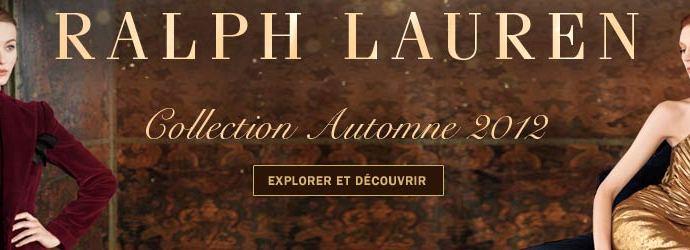 Campagne Ralph Lauren – Collection automne 2012