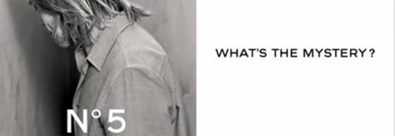 Chanel nous donne des indices sur la nouvelle campagne Chanel N°5 avec Brad Pitt