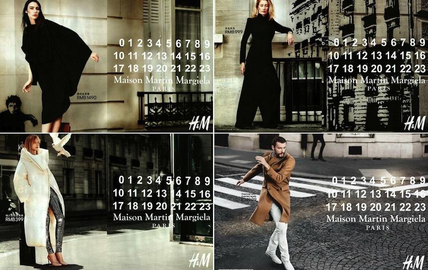 Nouveau film de Martin Margiela pour H&M