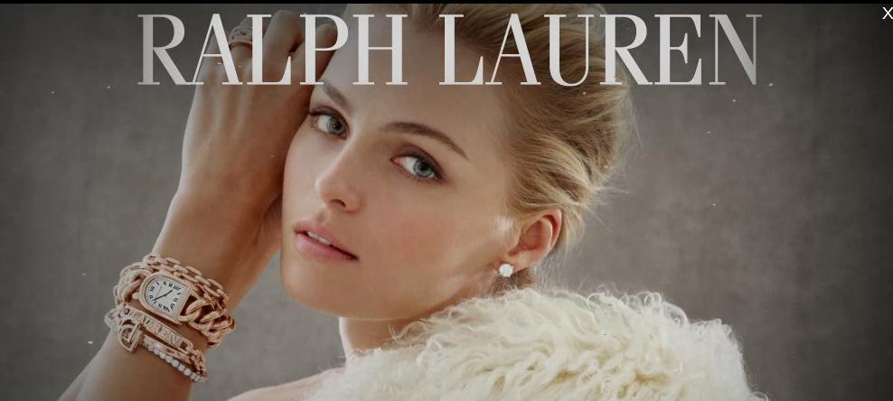 Nouvelle campagne Ralph Lauren Watches – Stirrup