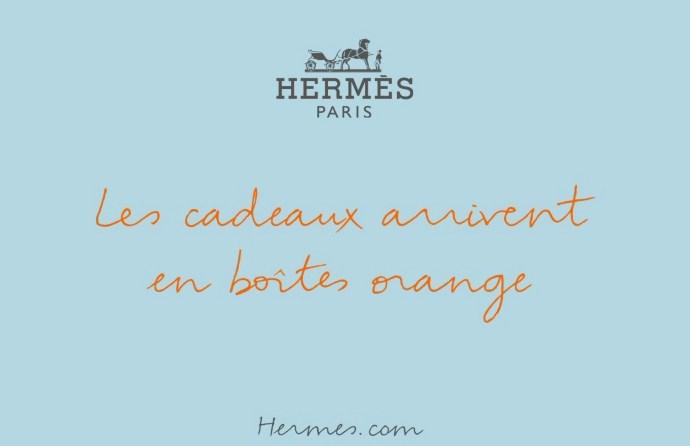 Nouvelle campagne Hermès pour noël