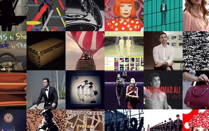 Louis Vuitton – Rétrospective digitale 2012