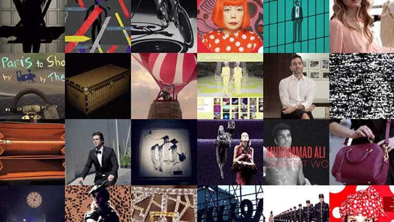 Louis Vuitton – Rétrospective digitale 2012