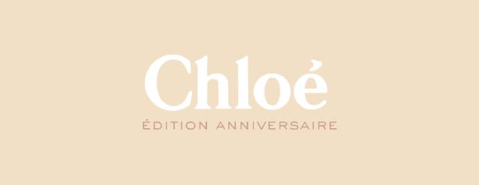 Espace dédié Chloé anniversaire sur Vogue.fr
