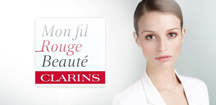 Nouvelle application signée Clarins – My Personal Red Line