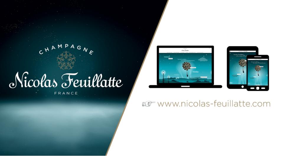 Nicolas Feuillatte réenchante son univers digital