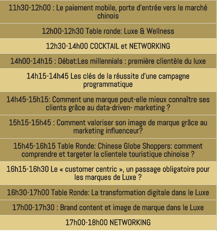 Digital Luxe Meeting 4 - 2018