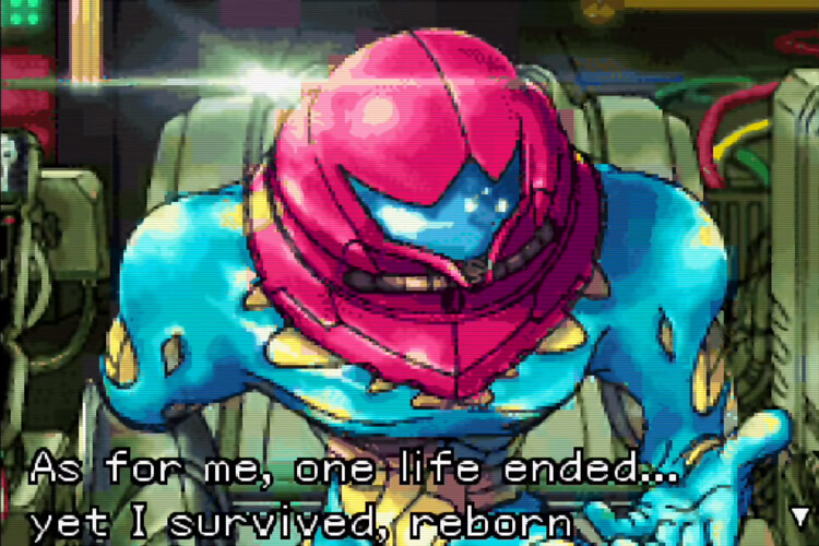 Samus Aran monologue in Metroid Fusion