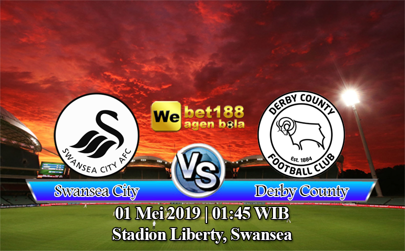 Prediksi Bola Swansea City vs Derby County 1 Mei 2019