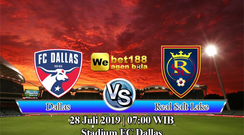 Prediksi Bola Dallas vs Real Salt Lake 28 Juli 2019