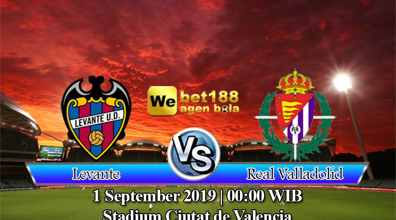 Prediksi Bola Levante vs Real Valladolid 1 September 2019