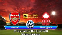 Prediksi Bola Arsenal Vs Nottingham Forest 25 September 2019
