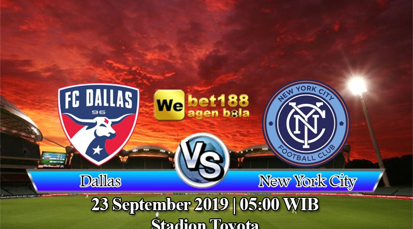 Prediksi Bola Dallas Vs New York City 23 September 2019