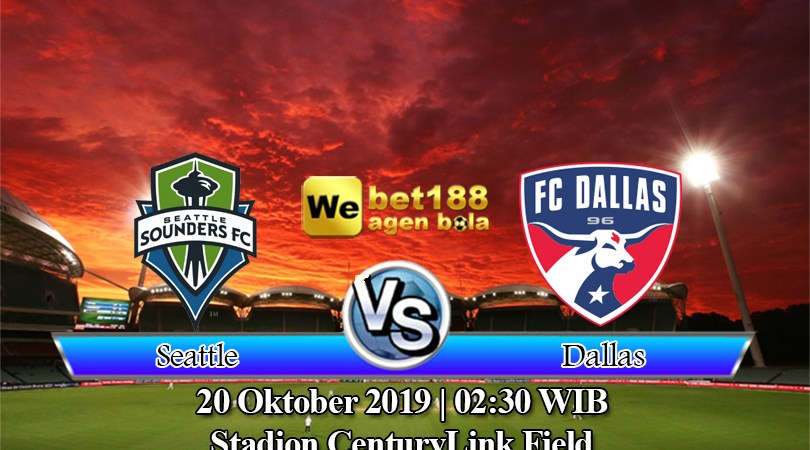 Prediksi Bola Seattle Sounders Vs Dallas 20 Oktober 2019