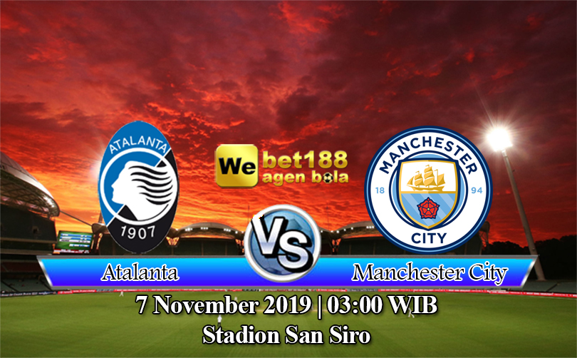 Prediksi Bola Atalanta vs Manchester City 7 November 2019
