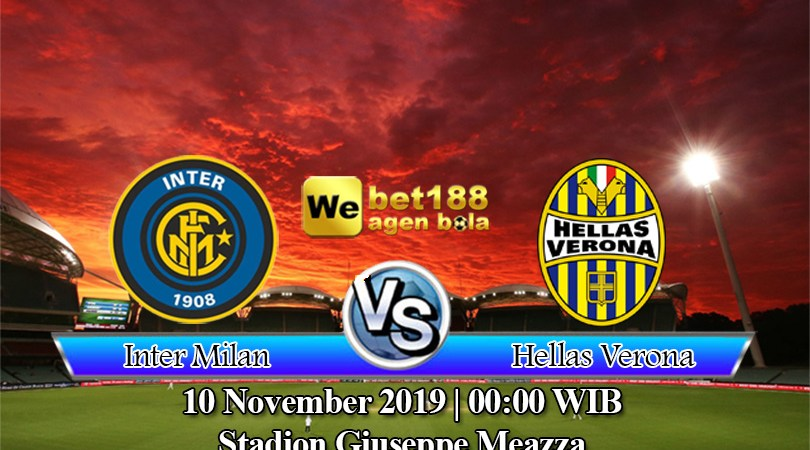 Prediksi Bola Inter Milan Vs Hellas Verona 10 November 2019