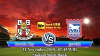 Prediksi Bola Lincoln City vs Ipswich Town 21 November 2019