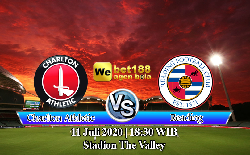 Prediksi Bola Charlton Athletic Vs Reading 11 Juli 2020