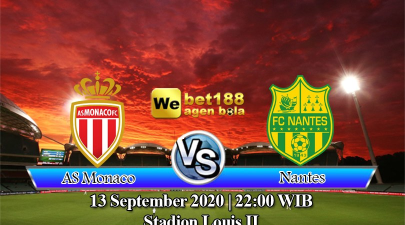 Prediksi Bola AS Monaco Vs Nantes 13 September 2020