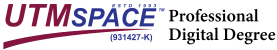 UTMspace professional digital degree logo-01