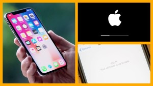 iPhone X Software Update