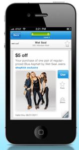 Shopkick app example 3