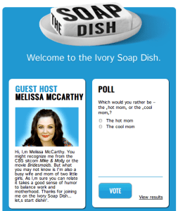 The Soap Dish is Proctor & Gamble's newest online community.