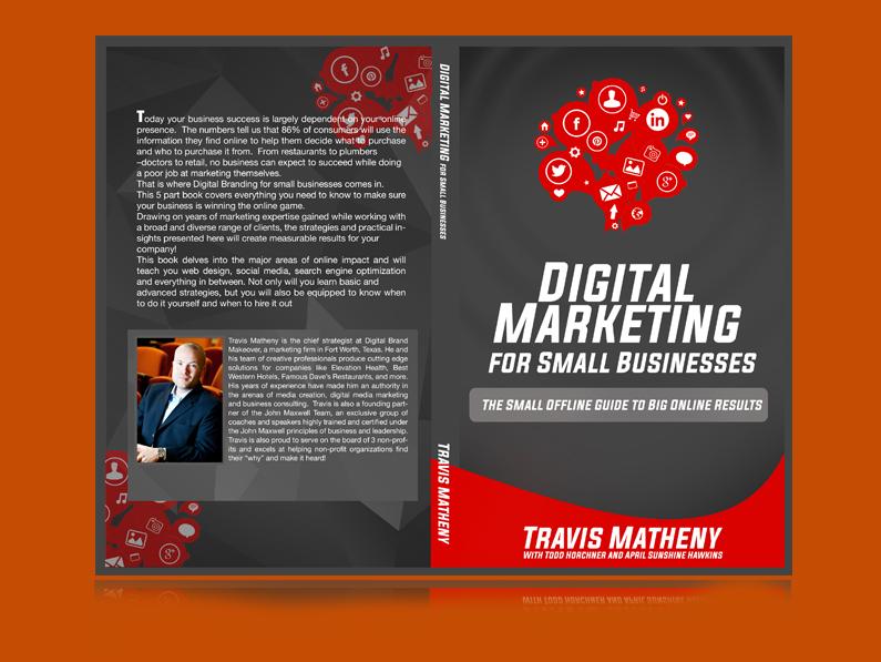 Digita Marketing E-book Cover by Travis Matheny
