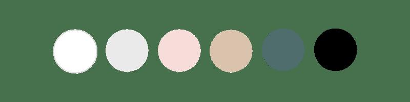 Palette couleur Fleur
