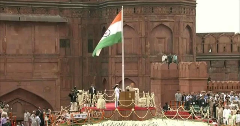 Watch Live: PM Modi From Red Fort…..